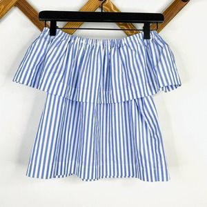 WILFRED striped off shoulder top XXS